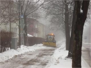 Oulunkyläntie talvi